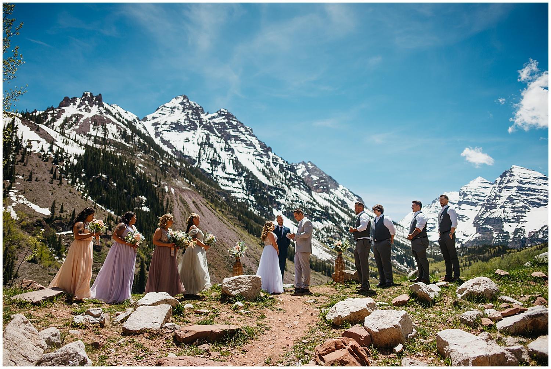 Maroon Bells Wedding Parr Photo Co